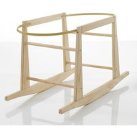 My Child Wooden Rocking Moses Basket Stand-Pine