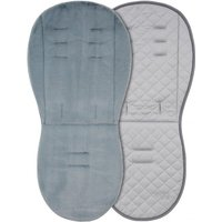 egg Luxury Fleece Seat Liner-Grey