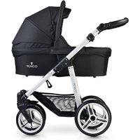Venicci Soft White Chassis 3in1 Travel System-Black