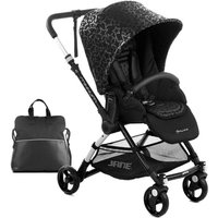 Jane Minnum Pushchair-Black Stars (New)