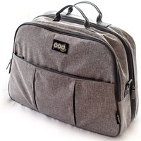 Bizzi Growin POD Travel Changing Bag-Linen Grey - Travel Gifts