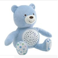 Chicco First Dreams Baby Bear Projector Night Light-Light Blue