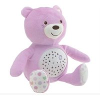 Chicco First Dreams Baby Bear Night Light-Pink