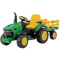 Peg Perego John Deere Ground Force Tractor With Trailer - Tractor Gifts