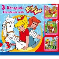 Bibi & Tina: 3er MP3-Box Hörspiel-Abenteuer