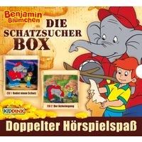 Benjamin Blümchen: 2er MP3-Box Schatzsucher