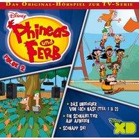 Phineas und Ferb: Das Ungeheuer von Loch Nase - Teil 1 & 2 / .. (Folge 2)