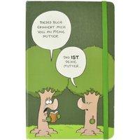 Ruthe: Notizbuch Hardcover - Baum
