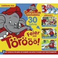 Benjamin Blümchen: 3er MP3-Box Feier mit Törööö!