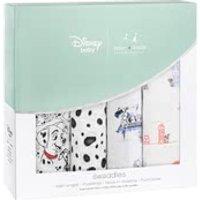 aden+anais Disney Swaddle Wickeltücher 4er Pack