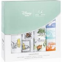 aden+anais Disney Swaddle Wickeltücher 4er Pack