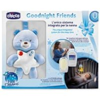 Chicco Set Audio Baby Monitor First Dreams – Gute Nacht Bärchen
