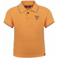 Beebielove! Jongens Polo Korte Mouw – Maat 86 – Oranje – Polyester/elasthan
