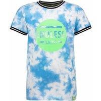 B.Nosy! Jongens Shirt Korte Mouw – Maat 164 – All Over Print – Katoen/elasthan