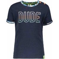 B.Nosy! Jongens Shirt Korte Mouw – Maat 86 – Donkerblauw – Katoen/elasthan