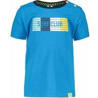 B.Nosy! Jongens Shirt Korte Mouw – Maat 86 – Blauw – Katoen/elasthan
