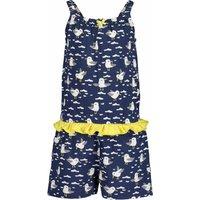 Blue Seven! Meisjes Jumpsuit – Maat 128 – All Over Print – Katoen/elasthan