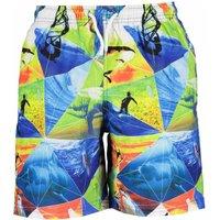 Blue Seven! Jongens Zwemshort – Maat 176 – All Over Print – Polyester
