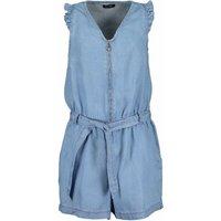 Blue Seven! Meisjes Jumpsuit – Maat 176 – Denim – Lyocell (natuurlijke vezel)