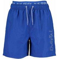 Blue Seven! Jongens Zwemshort – Maat 176 – Blauw – Polyester