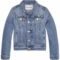 Calvin Klein Jeans! Meisjes Spijkerjas – Maat 140 – Denim – Jeans