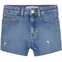 Calvin Klein Jeans! Meisjes Korte Broek – Maat 176 – Denim – Jeans