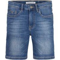 Calvin Klein Jeans! Jongens Bermuda – Maat 176 – Denim – Jeans