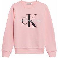 Calvin Klein Jeans! Unisex Sweater – Maat 140 – Roze – Katoen