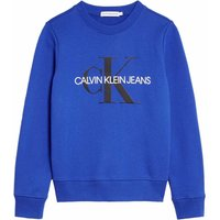 Calvin Klein Jeans! Unisex Sweater – Maat 176 – Blauw – Katoen