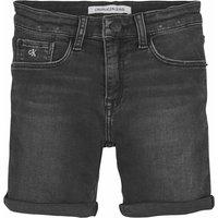 Calvin Klein Jeans! Jongens Bermuda – Maat 164 – Donkergrijs – Jeans