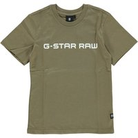 G-Star RAW! Jongens Shirt Korte Mouw – Maat 164 – Groen – Katoen