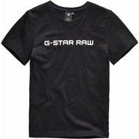 G-Star RAW! Jongens Shirt Korte Mouw – Maat 152 – Zwart – Katoen