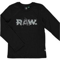 G-Star RAW! Jongens Shirt Lange Mouw – Maat 176 – Zwart – Katoen