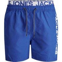 Jack & Jones! Jongens Zwemshort – Maat 152 – Blauw – Polyester