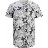 Jack & Jones! Jongens Shirt Korte Mouw – Maat 176 – All Over Print – Katoen