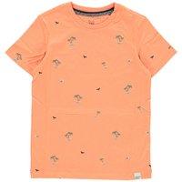 Jack & Jones! Jongens Shirt Korte Mouw – Maat 140 – Perzik – Katoen