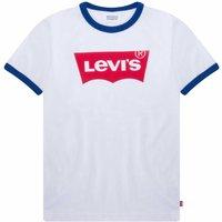 Levis! Jongens Shirt Korte Mouw – Maat 176 – Wit – Katoen