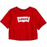 Levis! Meisjes Shirt Korte Mouw – Maat 176 – Rood – Katoen