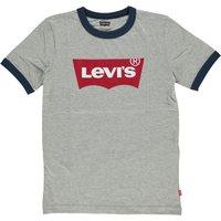 Levis! Jongens Shirt Korte Mouw – Maat 176 – Grijs – Katoen