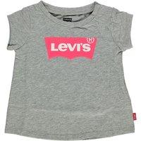 Levis! Meisjes Shirt Korte Mouw – Maat 86 – Grijs – Katoen