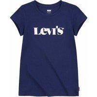 Levis! Meisjes Shirt Korte Mouw – Maat 164 – Donkerblauw – Katoen