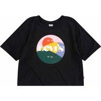 Levis! Meisjes Shirt Korte Mouw – Maat 176 – Zwart – Katoen