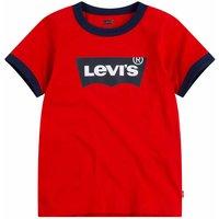 Levis! Jongens Shirt Korte Mouw – Maat 176 – Rood – Katoen