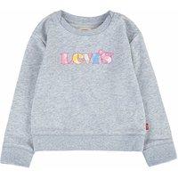 Levis! Meisjes Sweater – Maat 176 – Grijs – Katoen/polyester