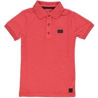 Levv! Jongens Polo Korte Mouw – Maat 110 – Rood – Katoen/elasthan