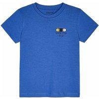Mayoral! Jongens Shirt Korte Mouw – Maat 92 – Blauw – Katoen
