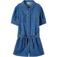 Name It! Meisjes Jumpsuit – Maat 152 – Denim – Jeans