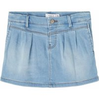 Name It! Meisjes Rok – Maat 104 – Denim – Jeans