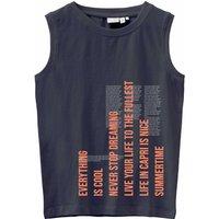 Name It! Jongens Hemd – Maat 152 – Donkerblauw – Katoen/elasthan