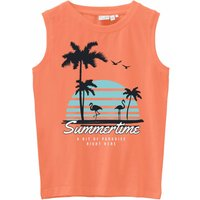 Name It! Jongens Hemd – Maat 152 – Oranje – Katoen/elasthan